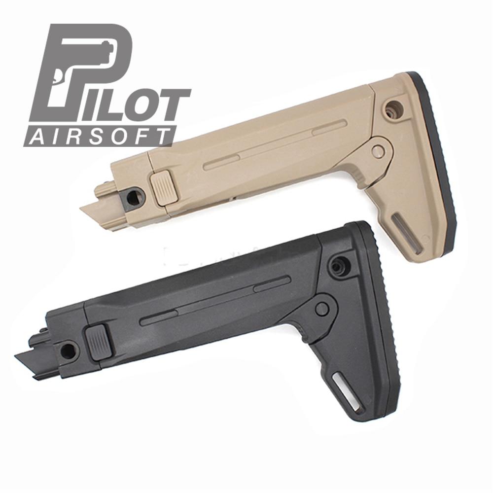 PILOT Moe tactical airsoft GBB stock ZHUKOV-S ak47/akm/ak74 Wargame Gun
